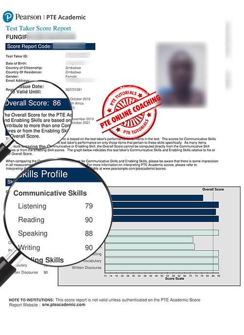 Online PTE Coaching in Zimbabwe