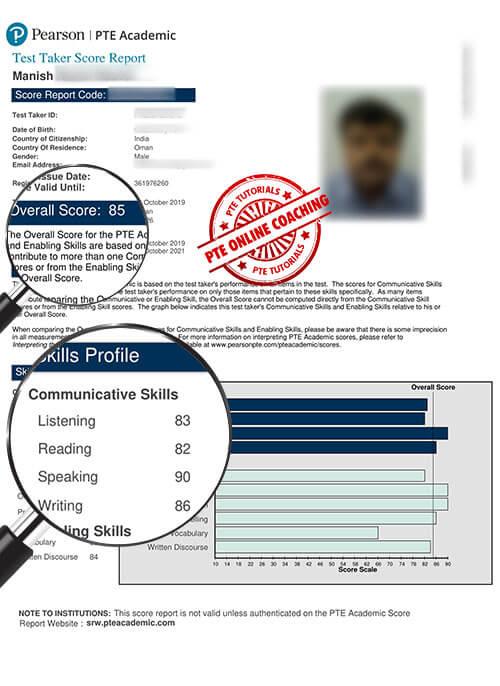 Online PTE Coaching in Oman