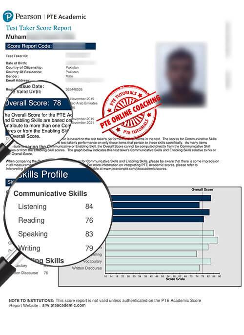 Online PTE Coaching in Pakistan