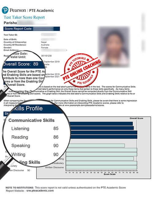 Online PTE Coaching in Nepal