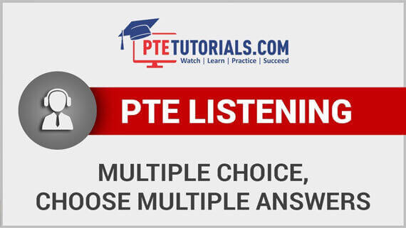 PTE Academic Listening Section | PTE Tutorials